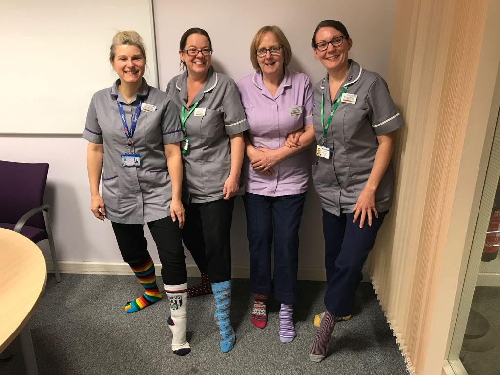 Royal Stoke University Hospital (RSUH) Lymphoedema Awareness Event